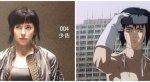 В Сети появились фото актерского состава «Призрака в доспехах» - Изображение 2