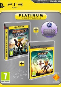 Ratchet & Clank: Tools of Destruction and Ratchet & Clank: A Crack in Time – фото обложки игры