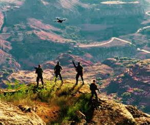 Ubisoft показала новый геймплейный ролик Ghost Recon: Wildlands