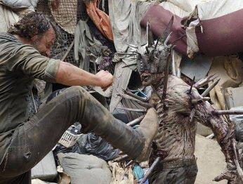 Как создавали необычного Ходячего в сериале The Walking Dead?
