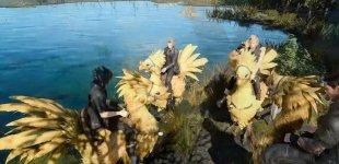 Final Fantasy XV. Демонстрация ездовых питомцев
