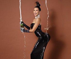 Ким Кардашьян не знает  слова «скромность»