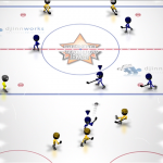 Скриншот Stickman Ice Hockey – Изображение 1