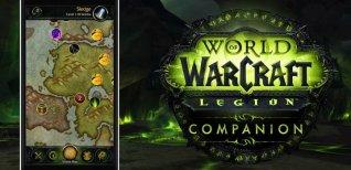 World of Warcraft: Legion. Представление мобильного-приложения компаньона