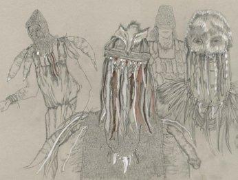 Эскизы костюмов для «Викинга» навевают ужас