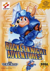Обложка Rocket Knight Adventures