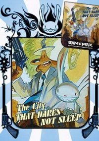 Обложка Sam & Max 305: The City that Dares not Sleep