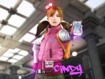 Синди— новый персонаж Battle Carnival напоминает стримершу Карину