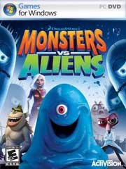 Обложка Monsters vs. Aliens