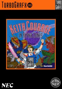 Обложка Keith Courage in Alpha Zones