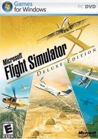 Microsoft Flight Simulator X Deluxe – фото обложки игры