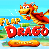 Скриншот Flap the Dragon