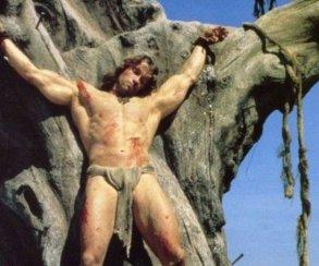 Игроки Conan Exiles начнут свой путь распятыми на кресте