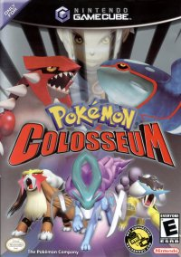 Pokémon Colosseum – фото обложки игры