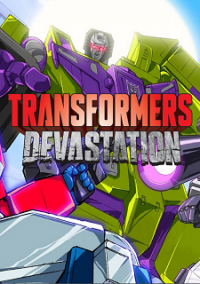 Обложка Transformers: Devastation
