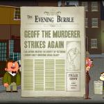 Скриншот Adventures of Bertram Fiddle: Episode 1 - A Dreadly Business – Изображение 1