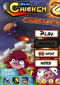 Обложка Ninja Chicken 2: Shoot'em Up HD
