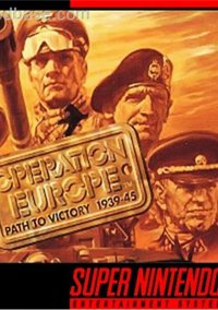 Operation Europe: Path to Victory 1939-45 – фото обложки игры