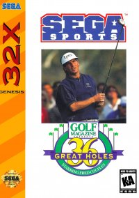 Обложка Golf Magazine: 36 Great Holes Starring Fred Couples
