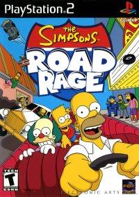 Обложка The Simpsons: Road Rage