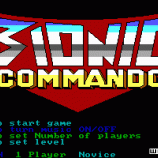 Скриншот Bionic Commando (1988)