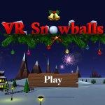 Скриншот VR Snowballs – Изображение 1