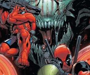 Дэдпул ненадолго превратился в Халка в новом номере U.S.Avengers