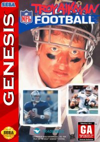 Обложка Troy Aikman NFL Football