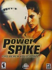 Обложка Power Spike Pro Beach Volleyball