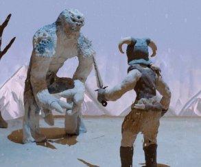 Самая умилительная реклама Skyrim – пластилиновый мультик про Довакина