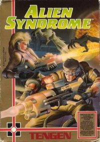 Alien Syndrome (1989) – фото обложки игры