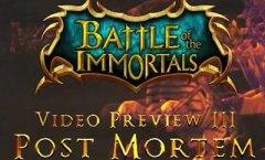 Battle of the Immortals. Видеодневники