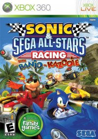 Обложка Sonic & SEGA All-Stars Racing with Banjo-Kazooie