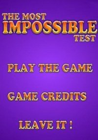 Обложка The Impossible Test