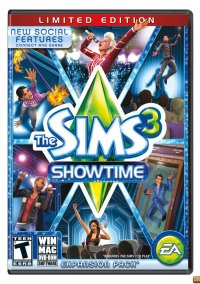 Обложка The Sims 3: Showtime