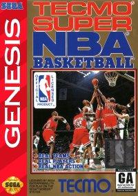 Обложка Tecmo Super NBA Basketball