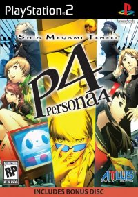Обложка Shin Megami Tensei: Persona 4
