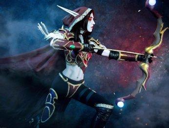 Косплей дня: королева Отрекшихся из Warcraft