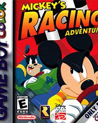 Обложка Mickey's Racing Adventure