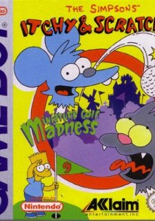The Simpsons: Itchy & Scratchy in Miniature Golf Madness