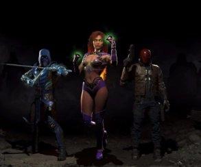 Стали известны персонажи первого DLC Injustice2. Там есть Саб-Зиро!