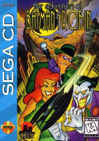 Обложка The Adventures of Batman & Robin