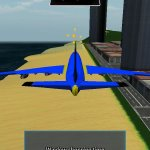 Скриншот Plane Flight Simulator 3D, A – Изображение 1