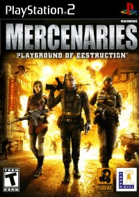 Обложка Mercenaries: Playground of Destruction