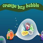 Orange Boy Bubble