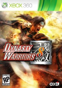 Обложка Dynasty Warriors 8
