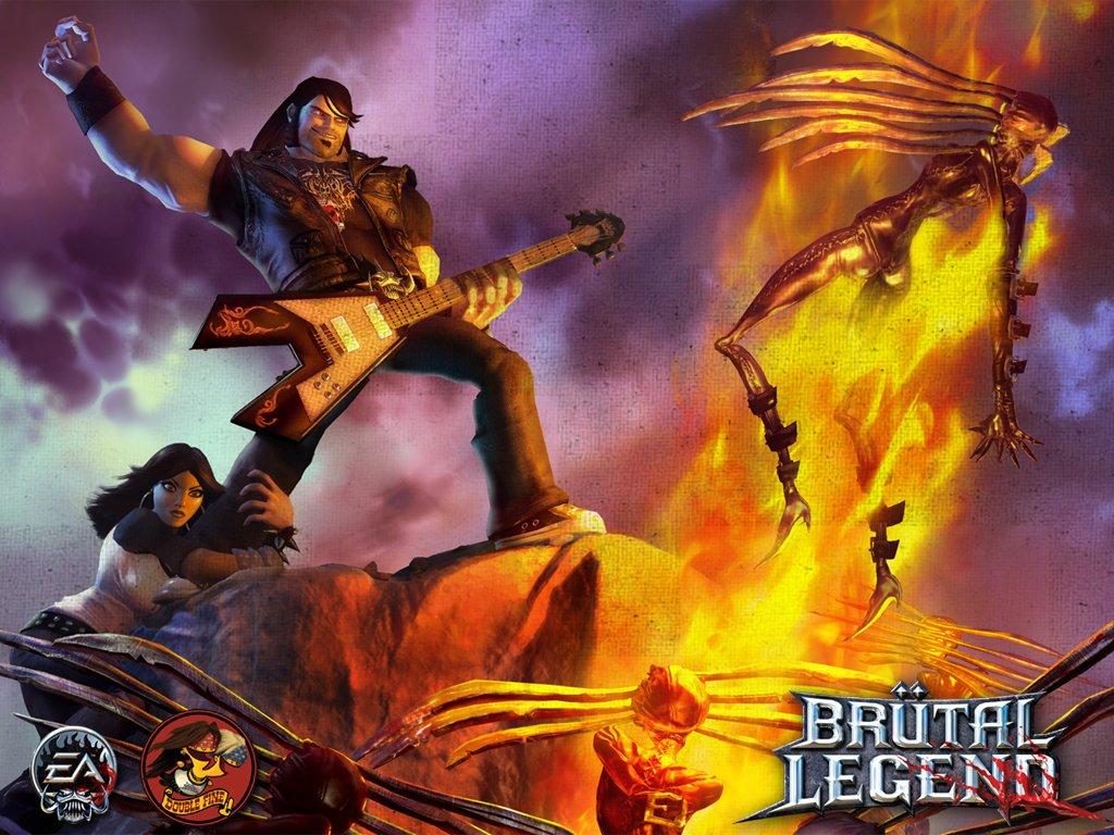 """Тим Шафер: """"Brutal Legend на PC получит новый контент"""" - Изображение 1"""