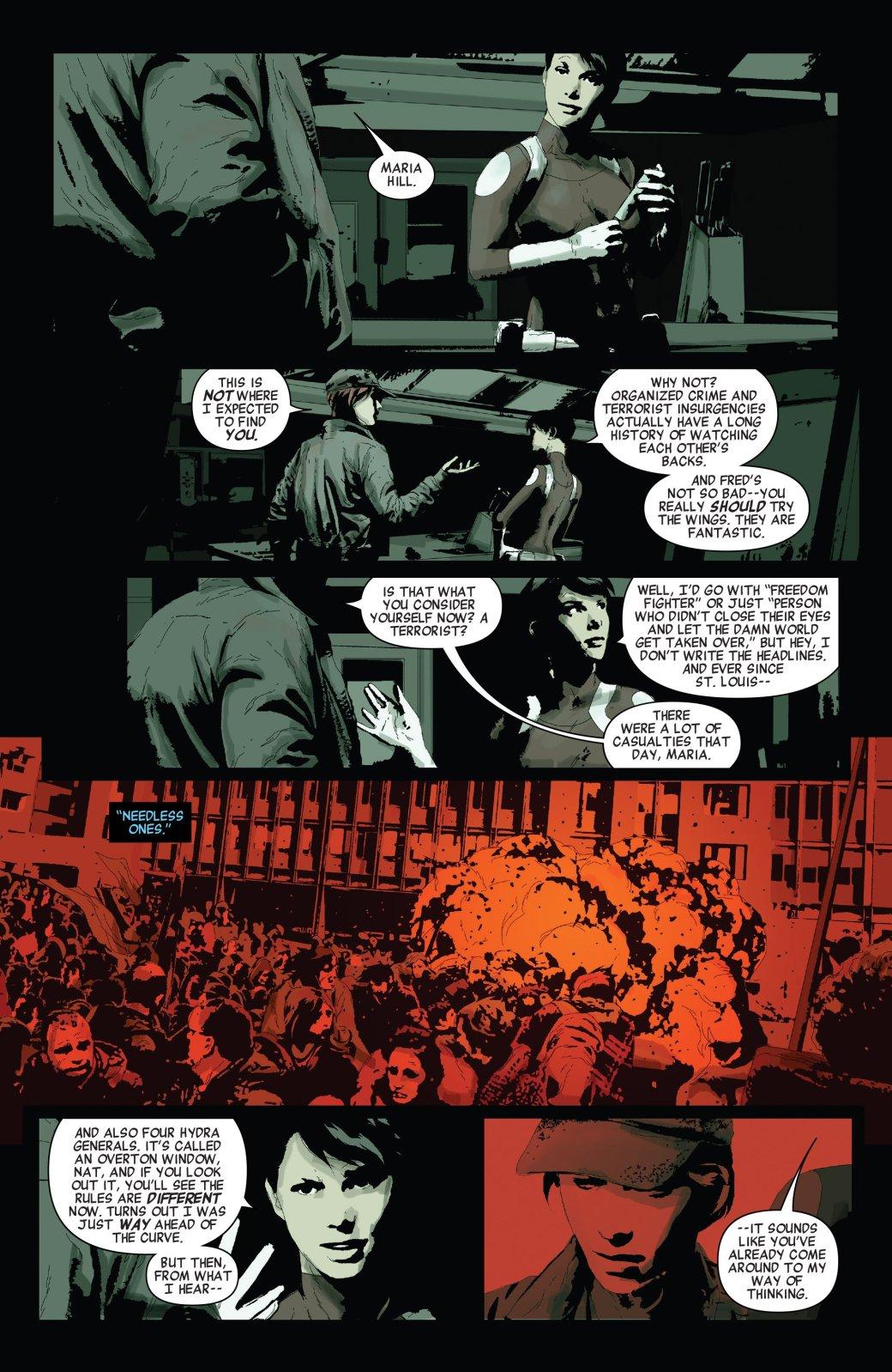 Secret Empire: Люди рады тому, что Гидра пришла к власти - Изображение 16