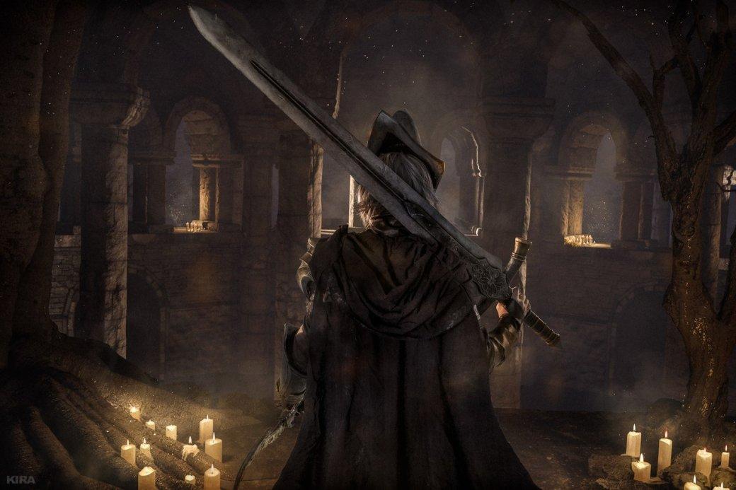 Косплей дня: Негорящий и Юрия из Лондора в Dark Souls 3. - Изображение 1