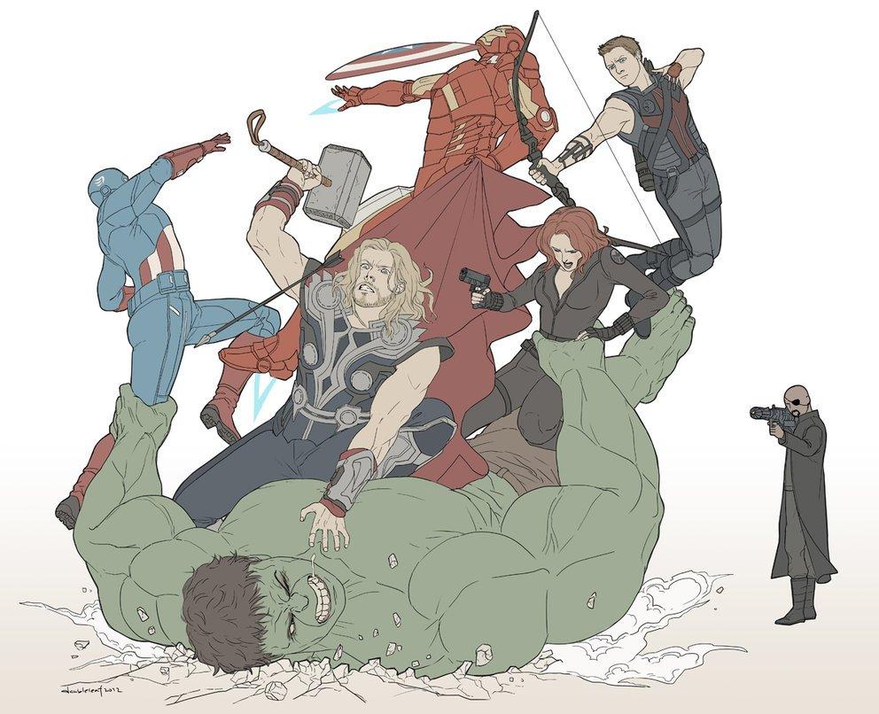 Галерея вариаций: Мстители-женщины, Мстители-дети... - Изображение 169